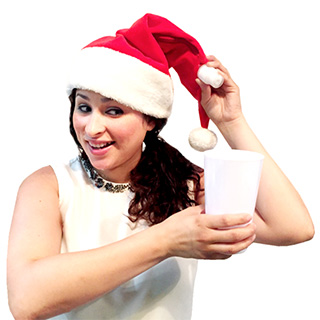 Santa Hat with Hidden Flask