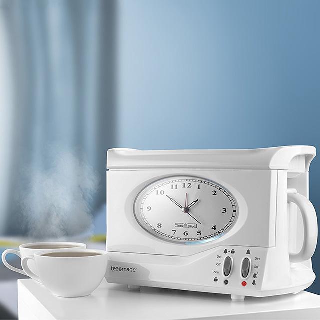 Tea Making Alarm Clock