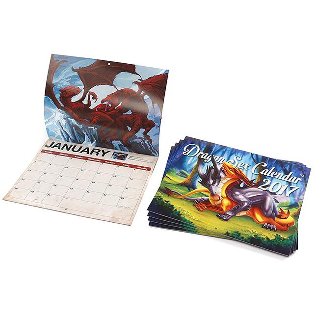 2017 Dragon Sex Calendar