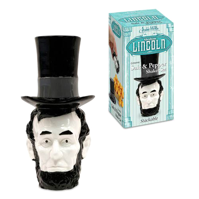 Abraham Lincoln Salt and Pepper Shakers