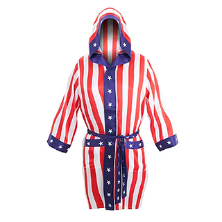 American Flag Boxing Robe