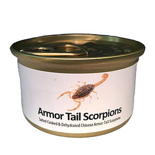 Canned Scorpions