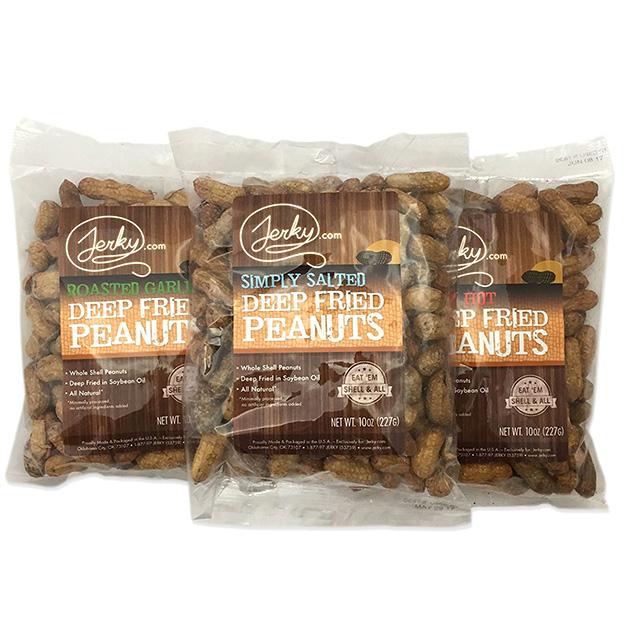 Deep Fried Peanut Sampler