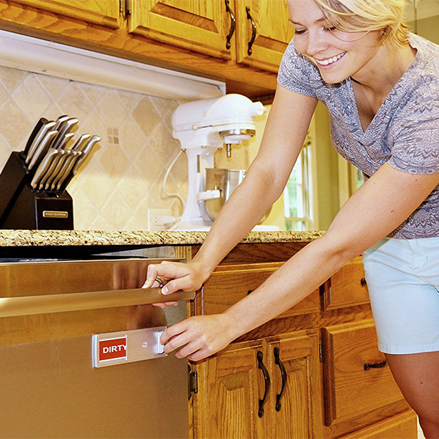 Dishwasher Status Indicator