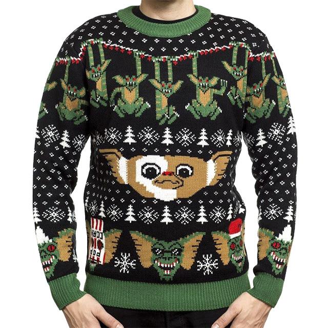 Gremlins Knit Pullover Sweatshirt