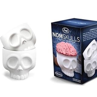 Human Skull Cake Cups