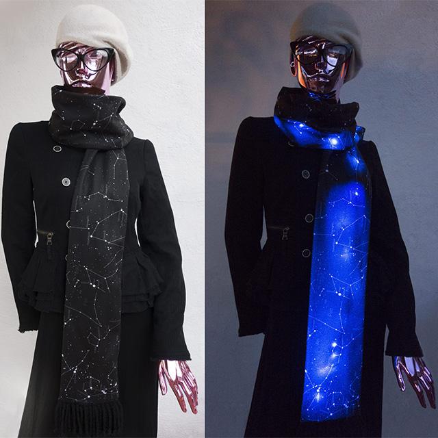 LED Constellation Scarf