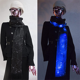 LED Constellation Scarf