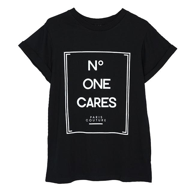 No One Cares Fashionista Shirt