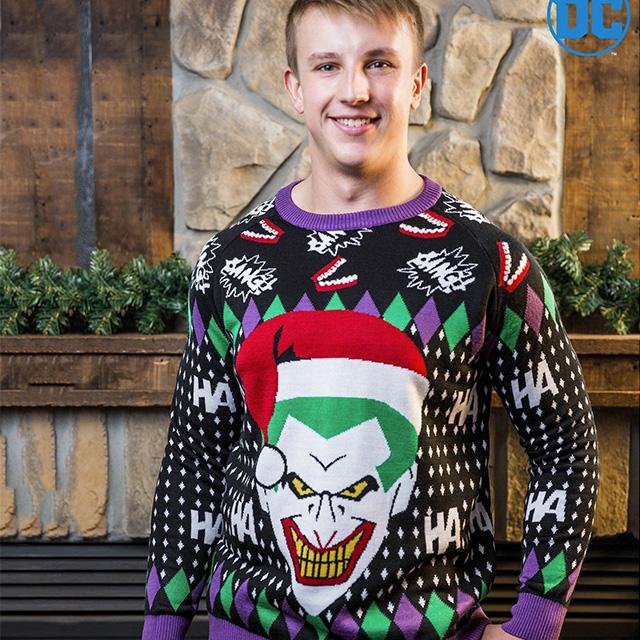 Santa Joker Sweatshirt