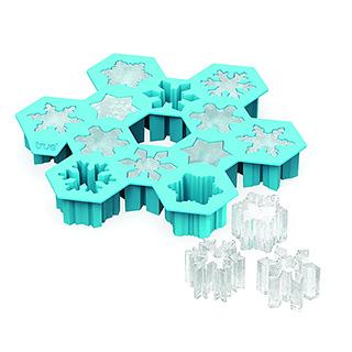 Snowflake Ice Cubes