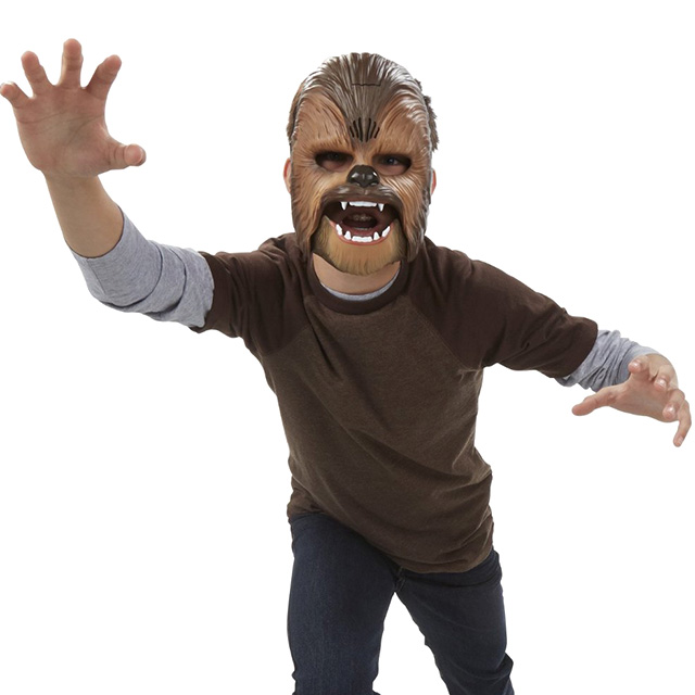 That Electronic Chewbacca Mask