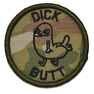 Dickbutt Patch