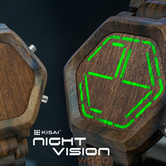 Faceless Wooden Watch