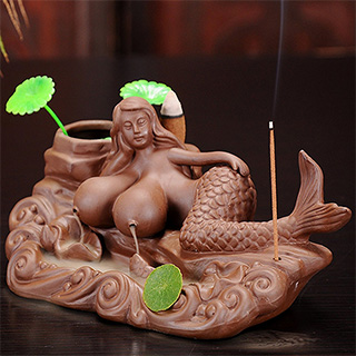 Mermaid Titties Incense Burner