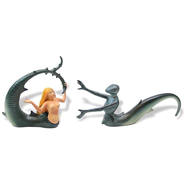 Mermaid and Seducer