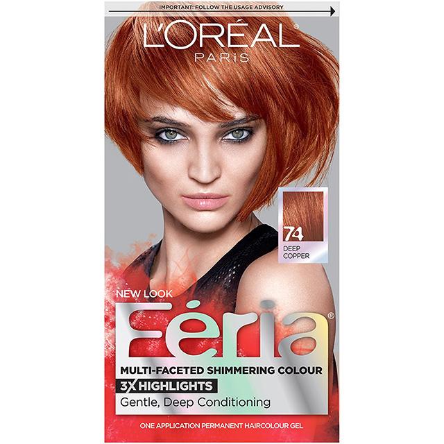 Copper Hair Dye