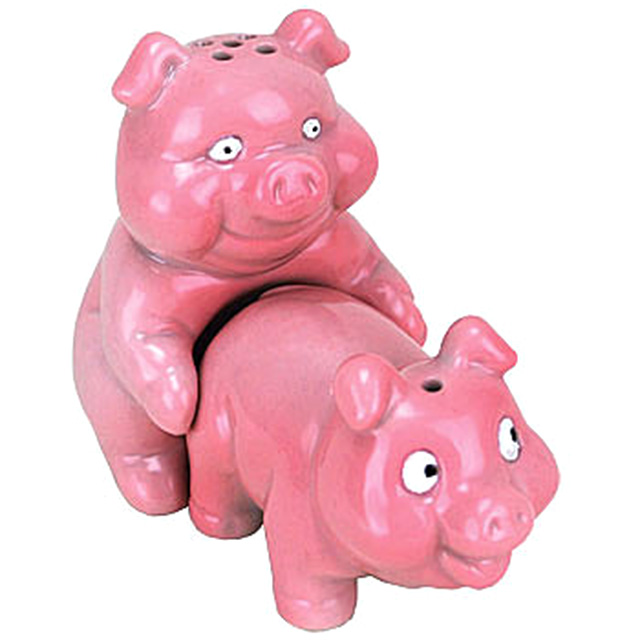 Porking Piggies Salt and Pepper Shakers