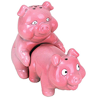 Porking Piggies Salt and Pepper Shakers