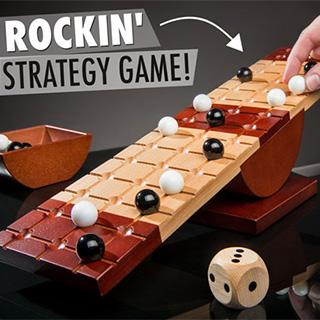 Teetering Board Game