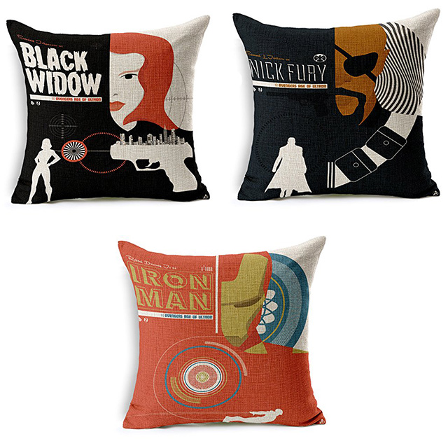 Avengers Pillow Covers