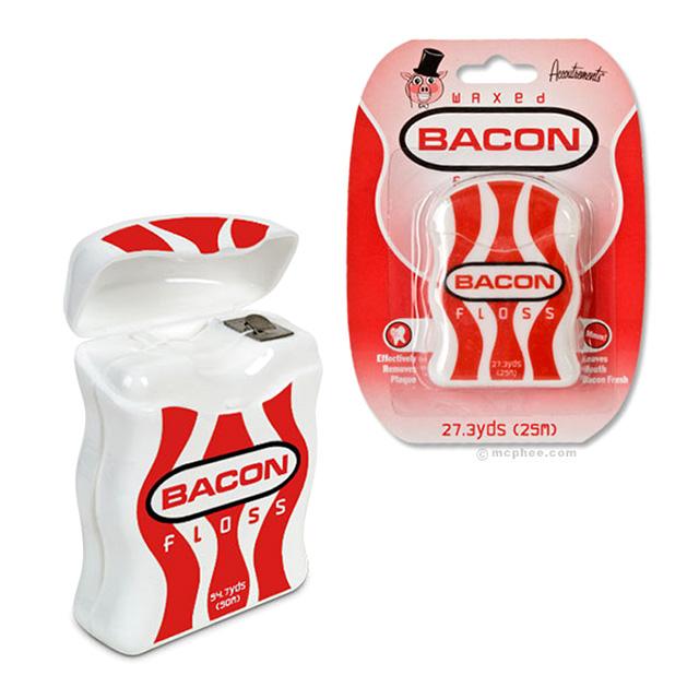 Bacon Flavor Dental Floss