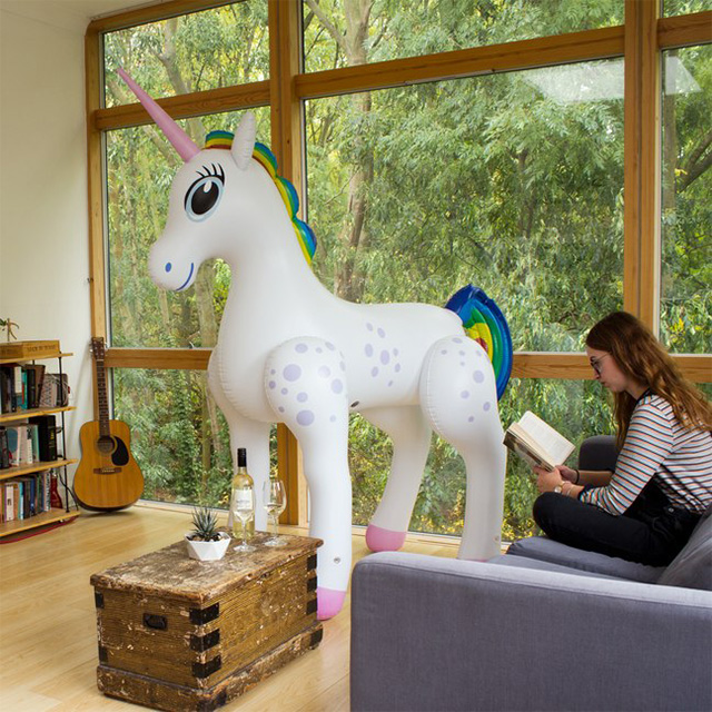 Massive Inflatable Unicorn