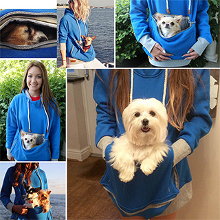 Pet Pouch Hoodies