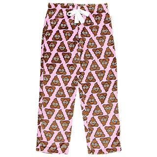 Poop Emoji Pajama Pants