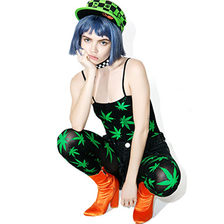 Pot Leaf Bodysuit