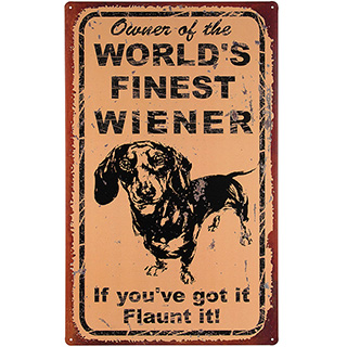 Wiener Dog Sign
