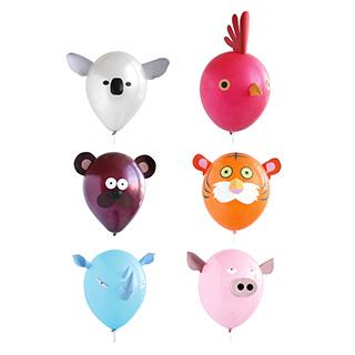 Animal Head Balloons