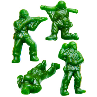 Green Apple Army Gummies