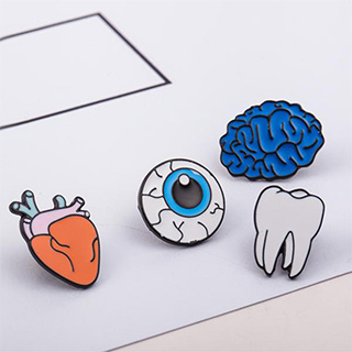 Human Organs Pins