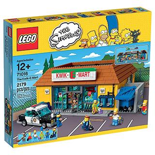 Kwik-E-Mart Lego Set