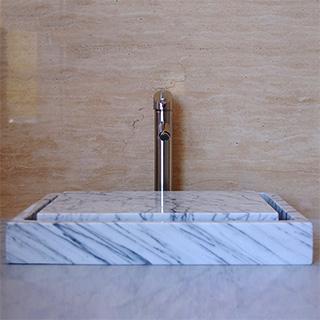 Marble Infinity Pool Sink