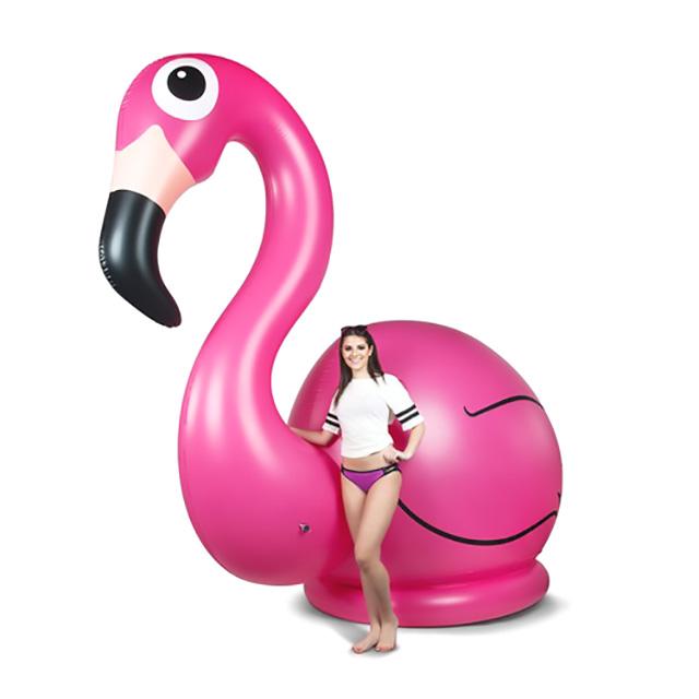 Massive Inflatable Flamingo