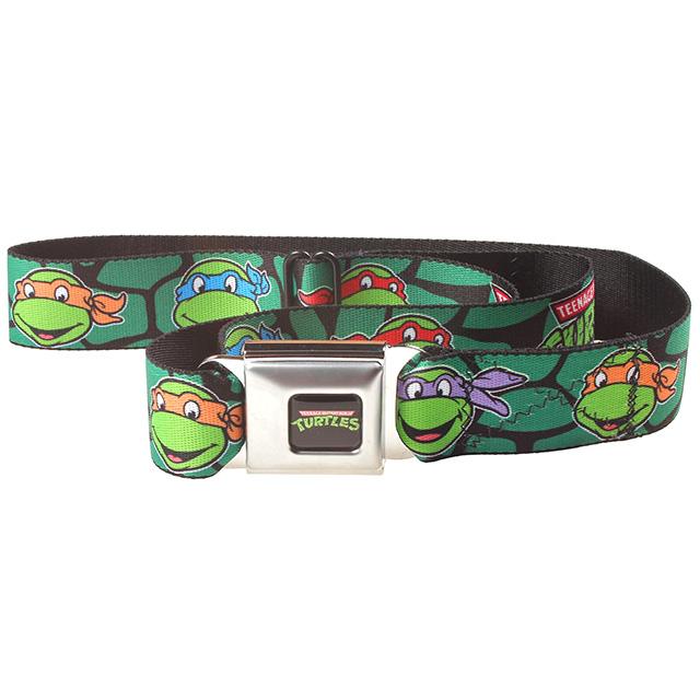 Ninja Turtles Seatbelt Belt