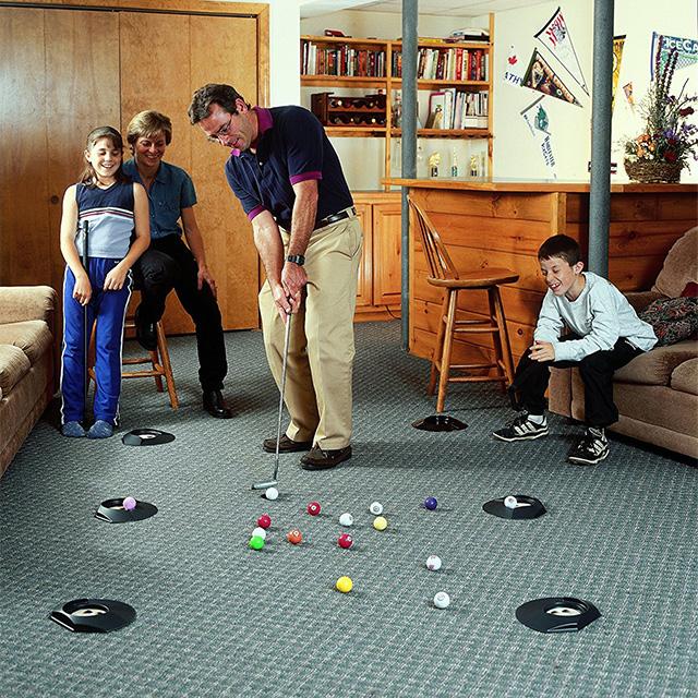 Putting Billiards Game