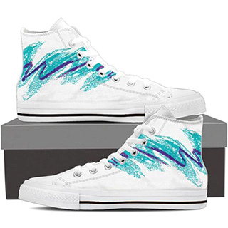 90s Cup Design High Tops