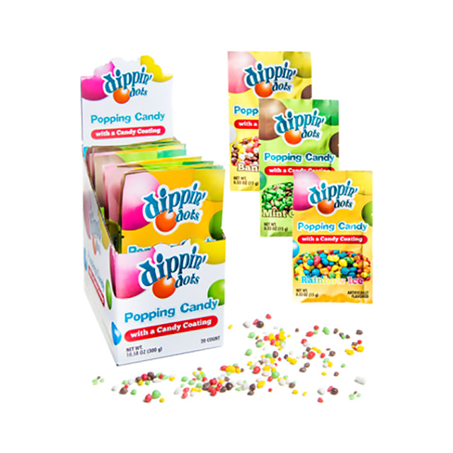 Dippin Dots Fizzy Candy