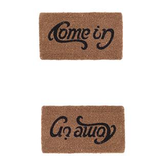 Double Message Doormat