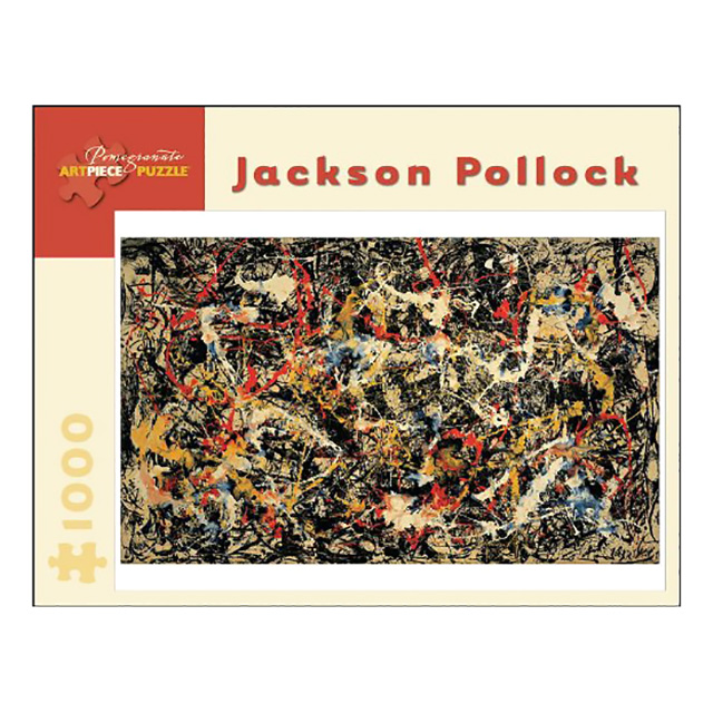 Jackson Pollock Jigsaw
