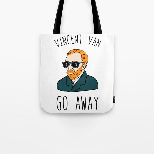 Vincent Van Go Away Bag