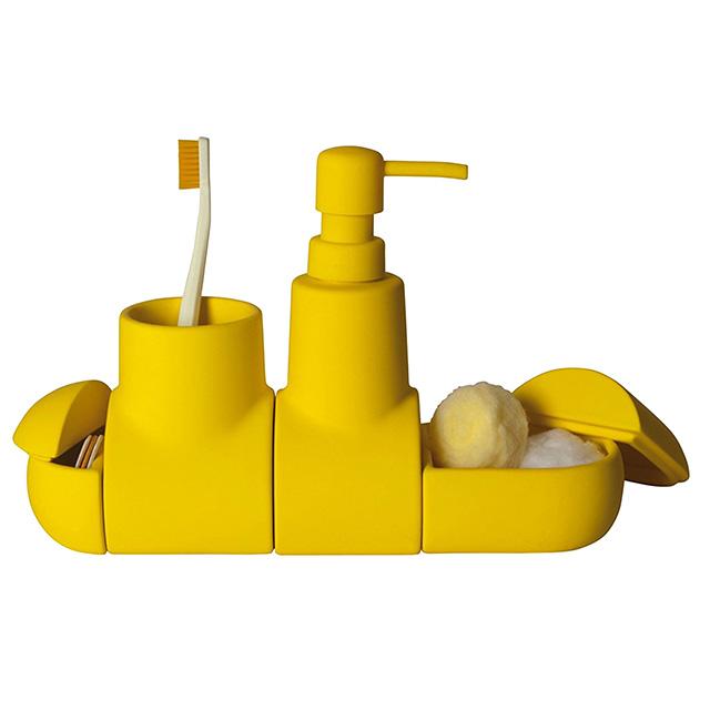 Yellow Submarine Bathroom Helper