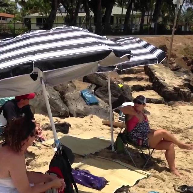 Compact Beach Umbrella