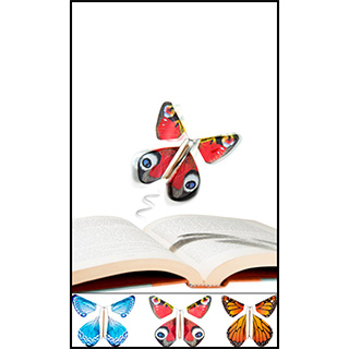 Flying Butterfly Bookmark