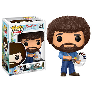 Mini Bob Ross Figure