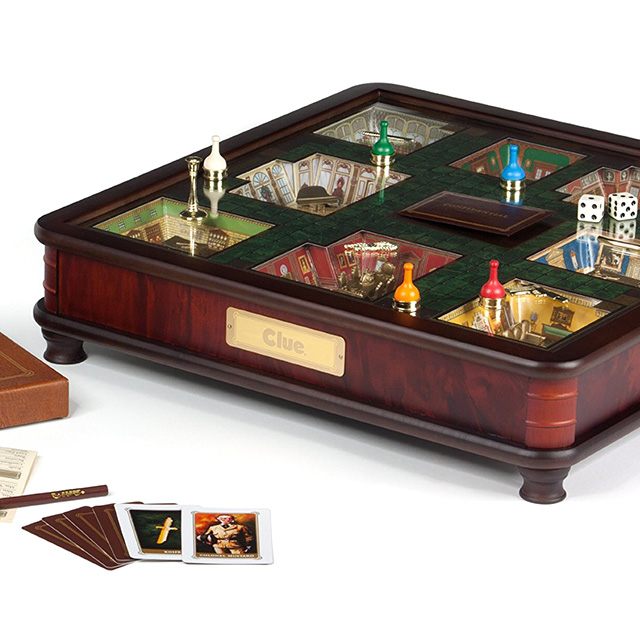 3D Luxury Edition of Clue