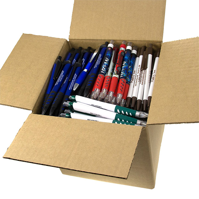 5 Pounds of Misprinted Pens
